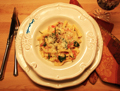 Gemelli w cream rosemary-ham tomato spinach shallot basil & garlic 09 TN copy