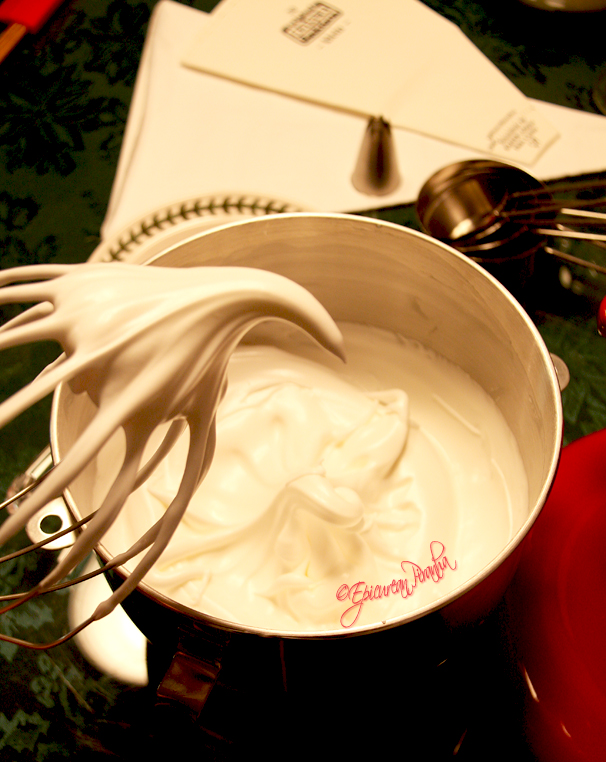 Making meringue