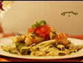 Pappardelle w Scallops & Pesto