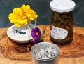 Boutons de marguerites & Lilas cristallisées à Mae