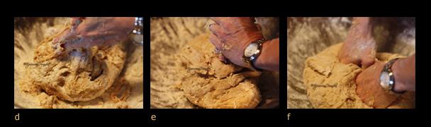 Triptych II - Oatmeal bread