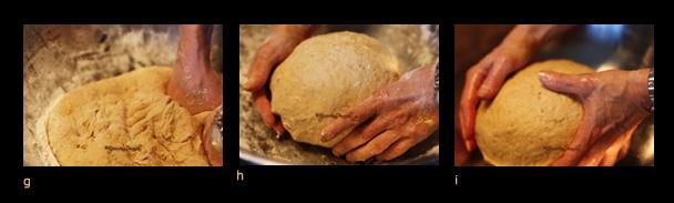 Triptych III - Oatmeal bread ghi