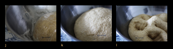 Triptych IV - Oatmeal bread jkl