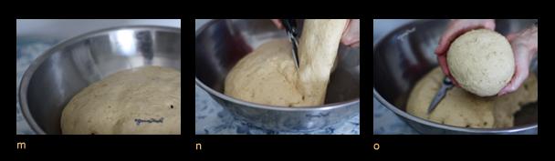 Triptych V - Oatmeal bread mno