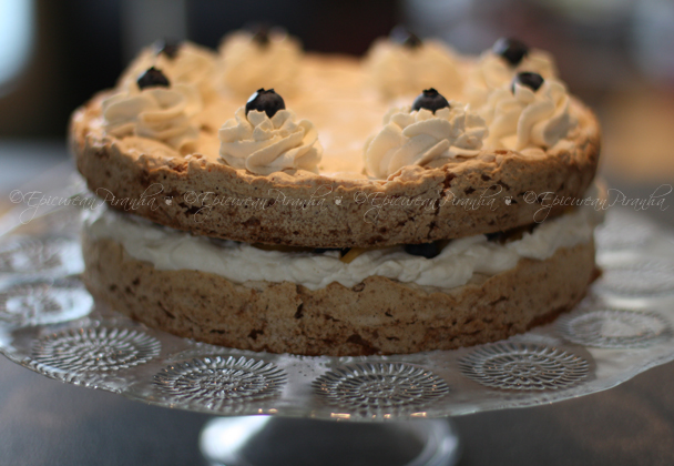 Hazelnut Meringue Gateau 04